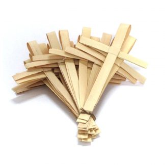 Palm Crosses standard size group of 50 - African handwoven crosses
