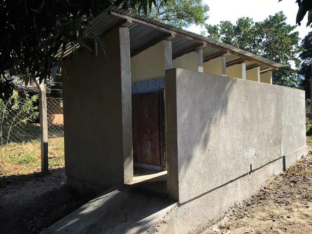 the new toilet block at Masasi School