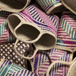 Massai handgefertigte Tragetaschen limitierte Auflage